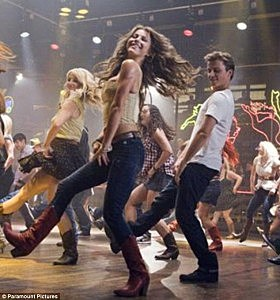 Julianne Hough Footloose dancing