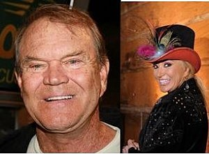 Glen Campbell and Tanya Tucker