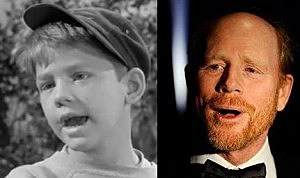 Ron Howard then and now
