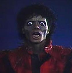 Thriller zombie Michael Jackson
