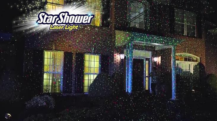 Star Shower: The Bizarre As Seen on TV Laser Light Show [Video]