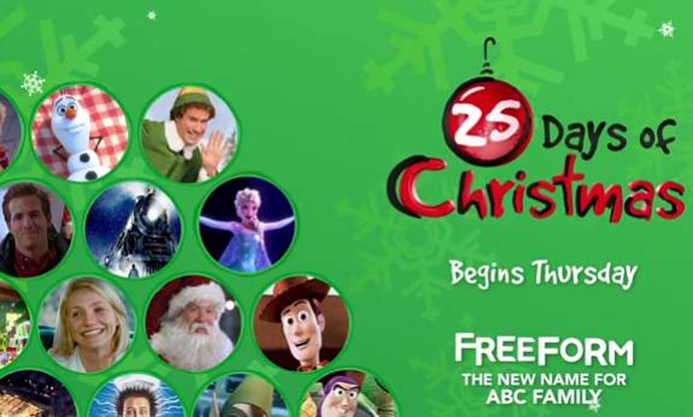 freeformabc familys 25 days of christmas announced video - Abc 25 Days Of Christmas