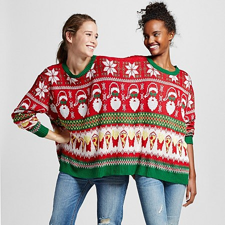 Double Ugly Christmas Sweater is the Gift No One Needs