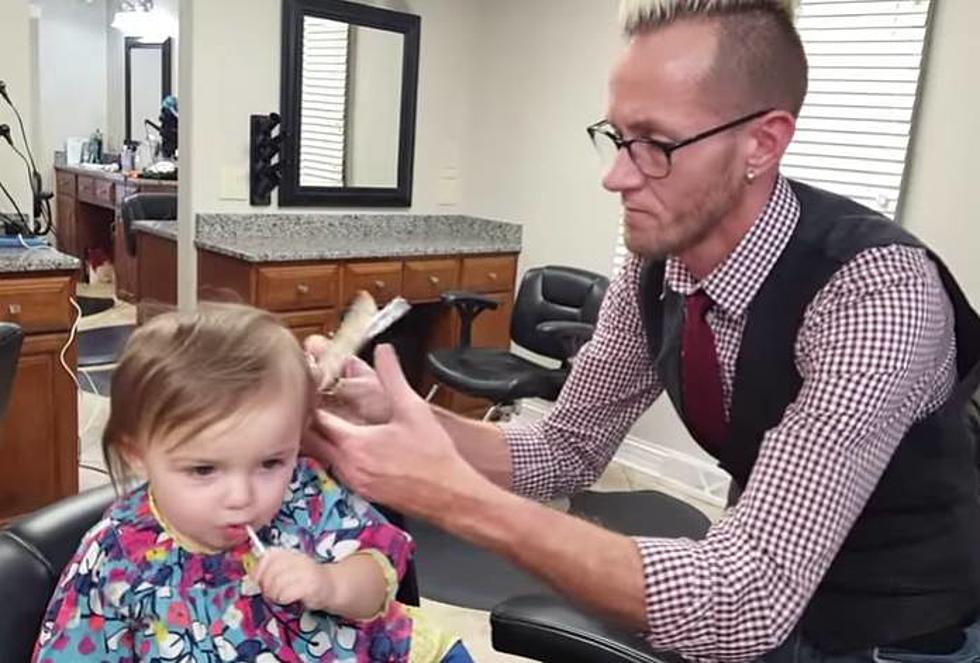 Charlotte Got Her First Haircut Last Friday Video