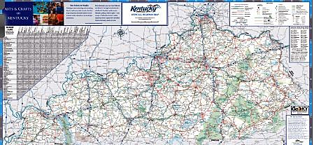 Kentucky Official Highway Map Is Now Available - Ky map