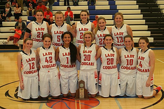 Grayson Co. Girls Basketball team photo