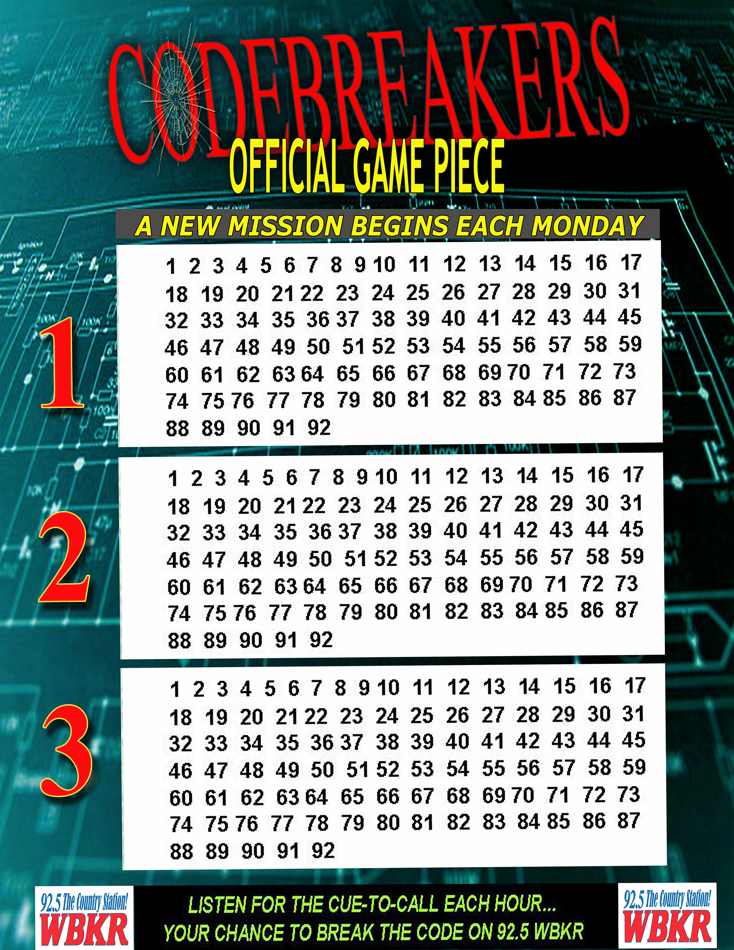 Codebreakers Game Piece spy2016 copy