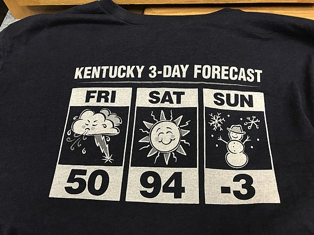 Kentucky 3-Day Forecast tee