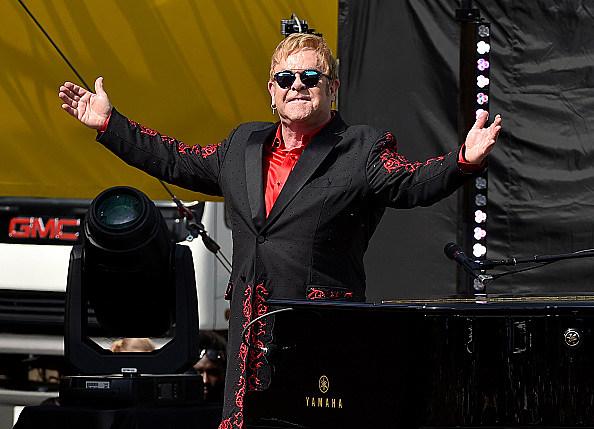 Elton John Live On The Sunset Strip